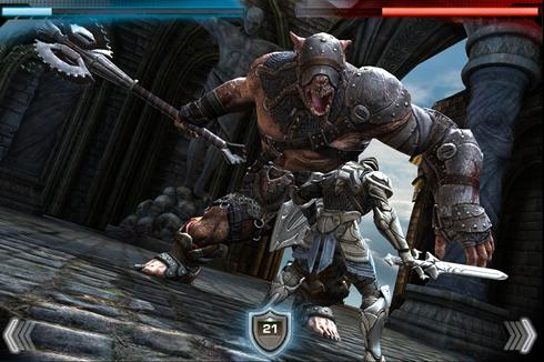 The game is called Infinity Blade, and will be developed by Chair