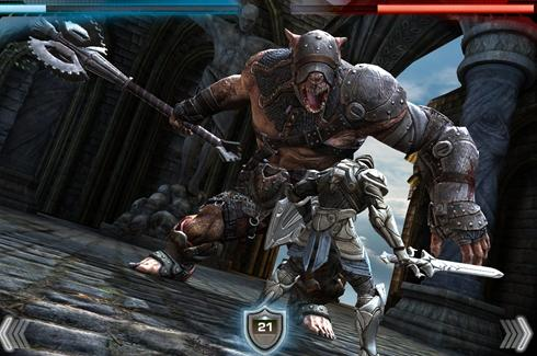 The action role-playing game features a knight that must scale a giant