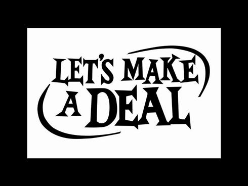 Lets Make A Deal Game Ideas