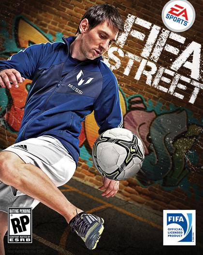 ... will be on the cover of the FIFA Street video game in March 2012