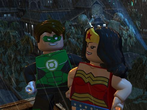 Gotham City players can expect in the action title Lego Batman 2: DC