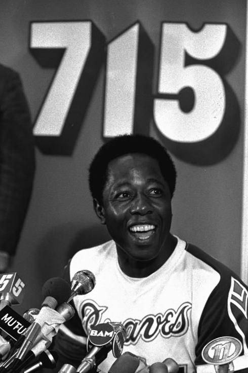 Hank Aaron 715 home runs