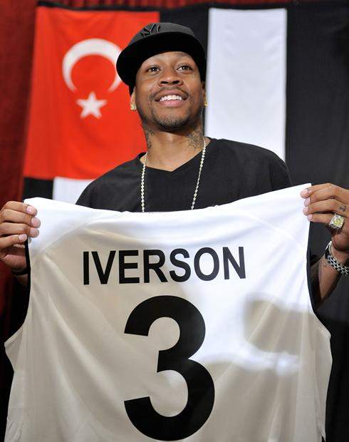 allen iverson turkey. Allen Iverson#39;s career in