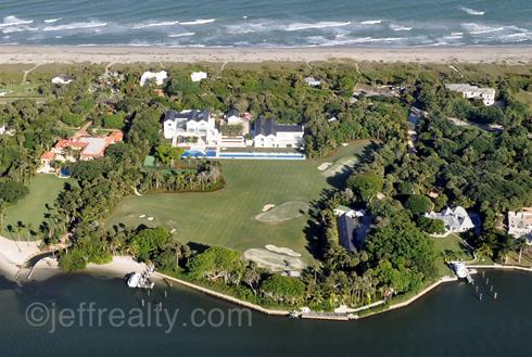 The house that Tiger Woods is building is Jupiter, Fla., is shown in the