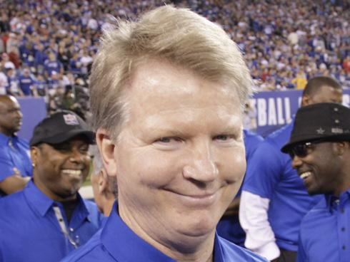 Phil Simms in, The Smirk!