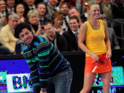 Caroline Wozniacki Rory Mcilroy Kiss Rory McIlroy joins Caroline