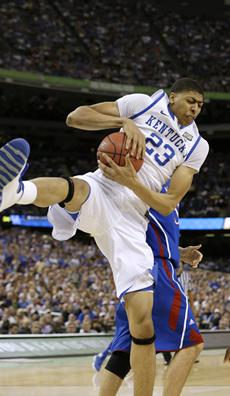Men's March Madness Ends With KENTUCKY Playing Kansas