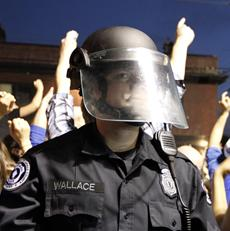 Kentucky police warns basketball fans about celebration
