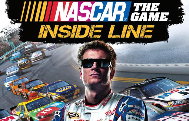 Dale Earnhardt Jr.'s image adorns the new video game NASCAR The Game: Inside Line.