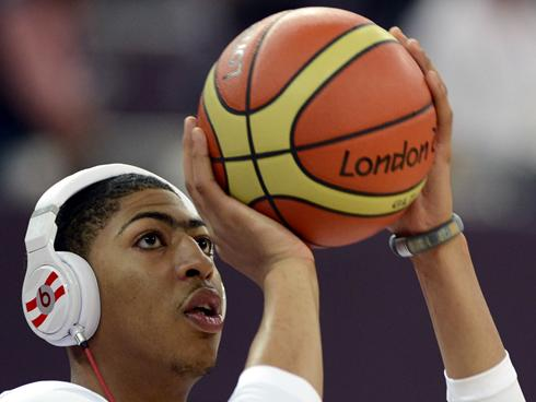 ... of your peers so it seems that nba rookie anthony davis is measuring