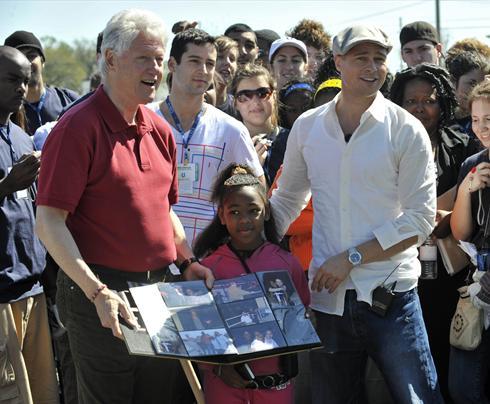 Image result for Brad Pitt Charity