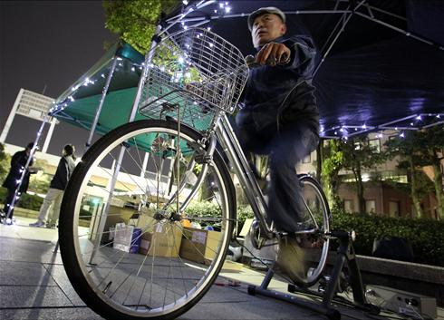 Pedal powered water pump - Watch Video, watch this video on Kendin Coş video search engine.