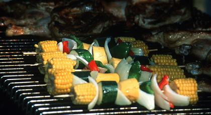 Food on the BBQ