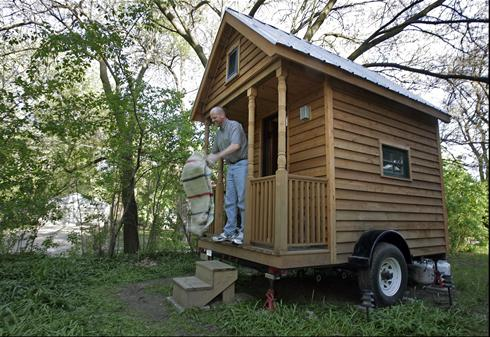 Worlds smallest houses turn heads