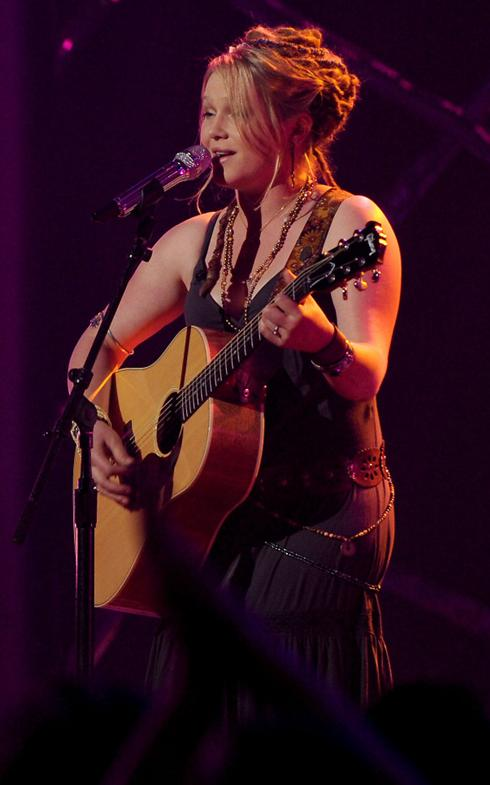 Dreadlock Extensions Crystal Bowersox American Idol