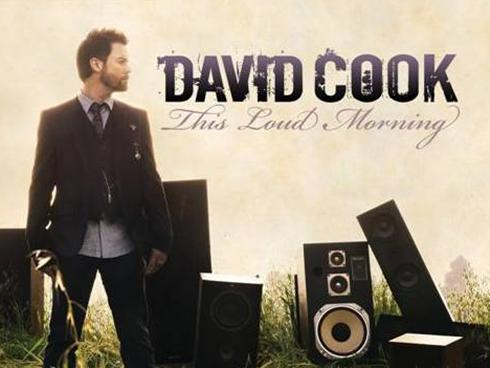 david cook this loud morning album cover. David Cook#39;s sophomore album,