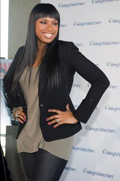 Jennifer Hudson revealed her national advertising campaign with Weight Watchers on Thursday in New York City.