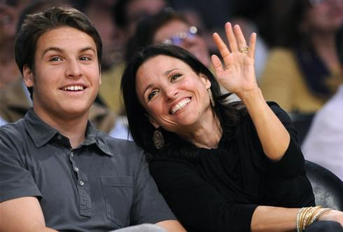 Julia Louis Dreyfus Sons Actress Julia Louis Dreyfus