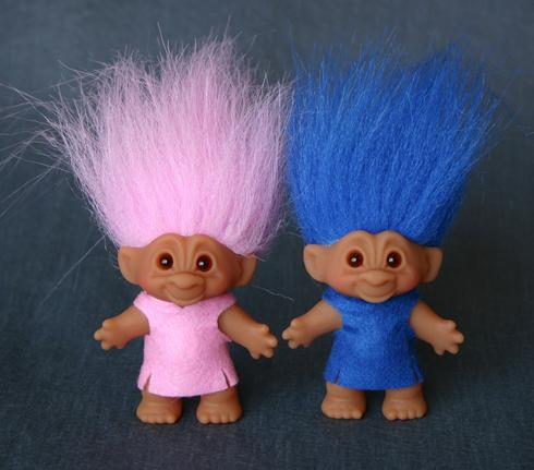 1990s Troll Dolls Fuzzy-headed troll dolls?