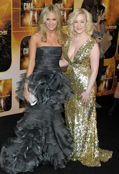 Kellie Pickler And Carrie Underwood Carrie Underwood and Kellie
