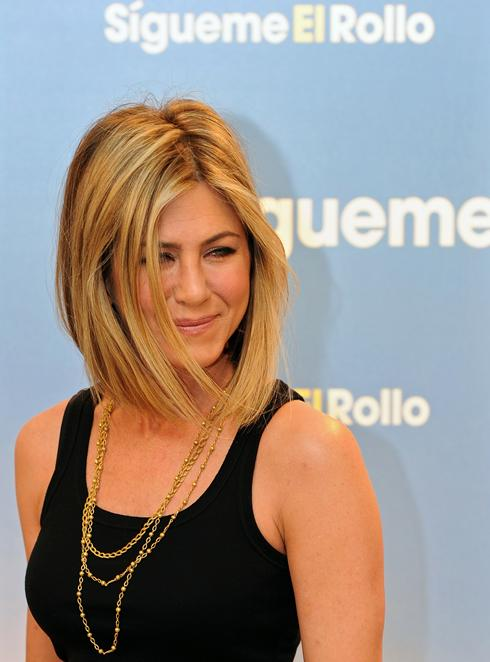 ... some real hair-raising news: Jennifer Aniston. Has. Cut. Her. Hair