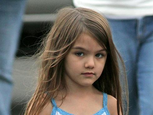 suri cruise pacifier. A photo of Suri Cruise,