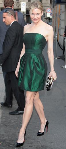 Renee Zellweger's revenge; Eva Longoria's wardrobe malfunction