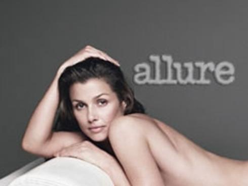 Look who's stripping down for Allure's annual nude issue. Baring all for the mag are actress Bridget