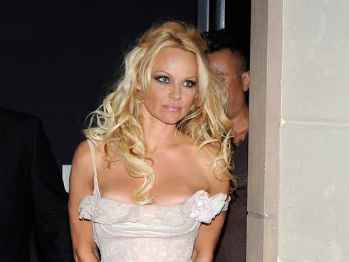 Pamela Anderson 39s birthday party Fantasia 39s pregnancy news