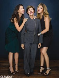 women year lady laura bush twin daughters barbara jenna cut