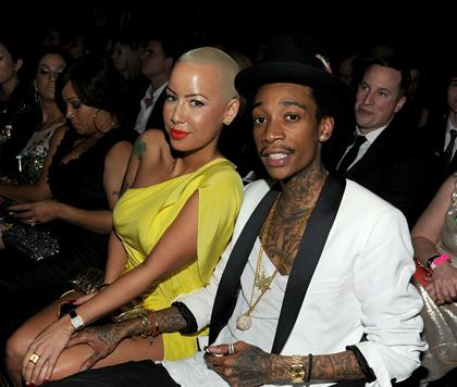 Amber Rose gets engaged to Wiz Khalifa