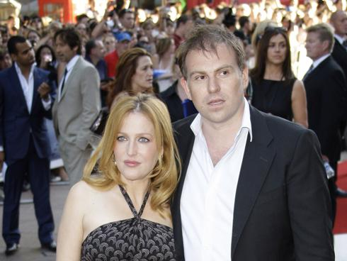 They've been together six years. But now Gillian Anderson and her ...