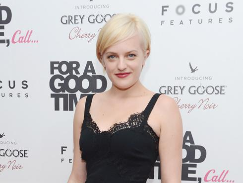 Elisabeth Moss debuts Miley 'do; Mariah Carey debuts video