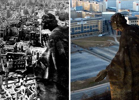 Bombings of Dresden Ww2 Bombing of Dresden Germany in