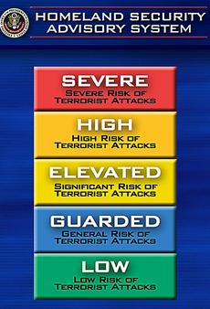 Color-coded terror warnings to end by late April