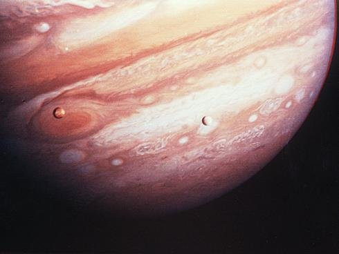 Image taken by Galileo Spacecraft launched 1989.