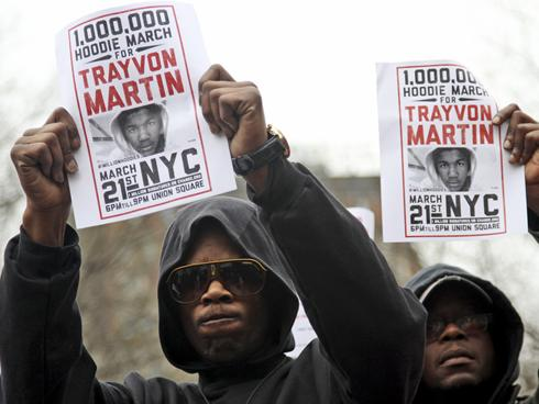 ... police chief over his handling of the killing of Trayvon Martin, the