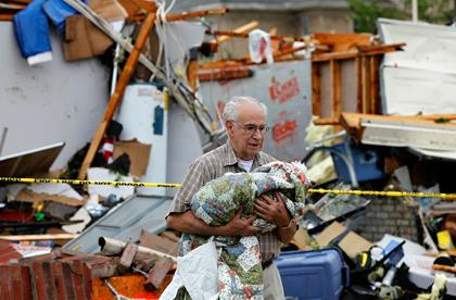 Tornadoes rip through Dallas area, northeast Texas