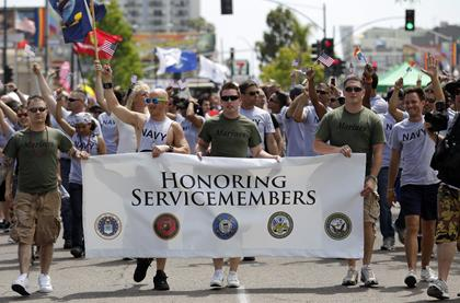 pentagon planning militarys event formally recognize gay lesbian troops press