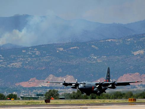Fatalities in C-130 crash at S.D. wildfire | The News Journal ...