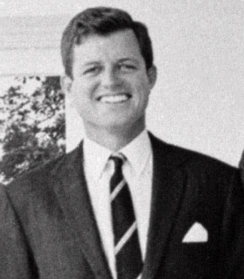 ted kennedy young. A young Edward Kennedy once