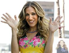 ... comes Sarah Jessica Parker on President Obamas fundraising circuit
