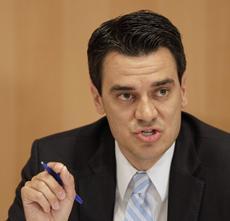 A GOP freshman congressman from Kansas apologized last night for a nude swim ...