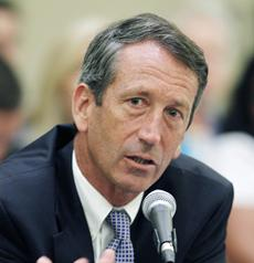 Former South Carolina governor <b>Mark Sanford</b> in a 2009 photo. - mark-sanford%20x-inset-community