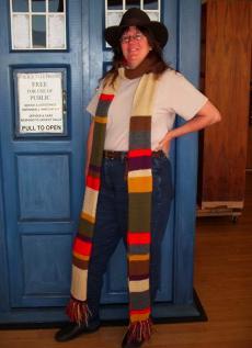 Tara with scarf
