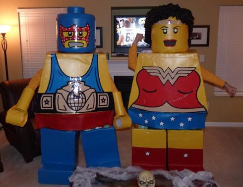 Pop readers  Halloween costumes  part two Wonder Woman Lego Costume