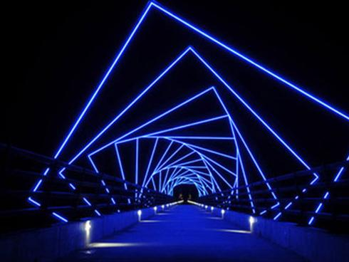 The High Trestle Trail Bridge