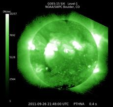 Sun delivers glancing solar storm blast at Earth