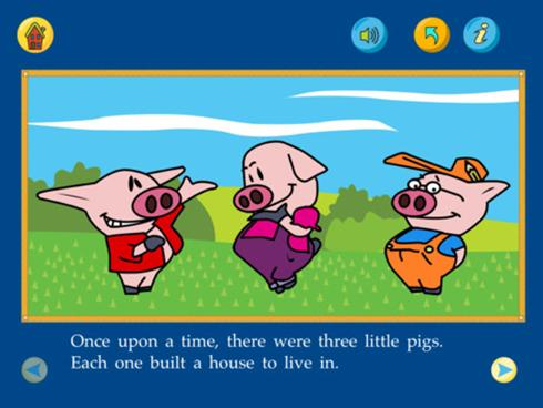 The App The Three Little Pigs