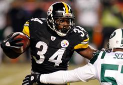 Steelers running back Rashard Mendenhall, who missed Super Bowl XLIII with a shoulder injury, is ready to run wild in the big game against the Packers.